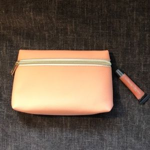 Ulta Jelly Gloss Lip Gel and Coral Pink Cos Bag